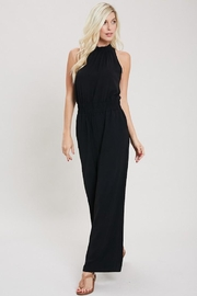 eesome Just Black Jumpsuit - Back cropped