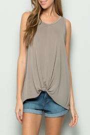 eesome Knot-Front Tank Top - Product Mini Image