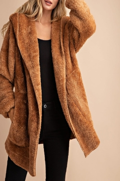 eesome Oversized Faux-Fur Jacket - Product List Image