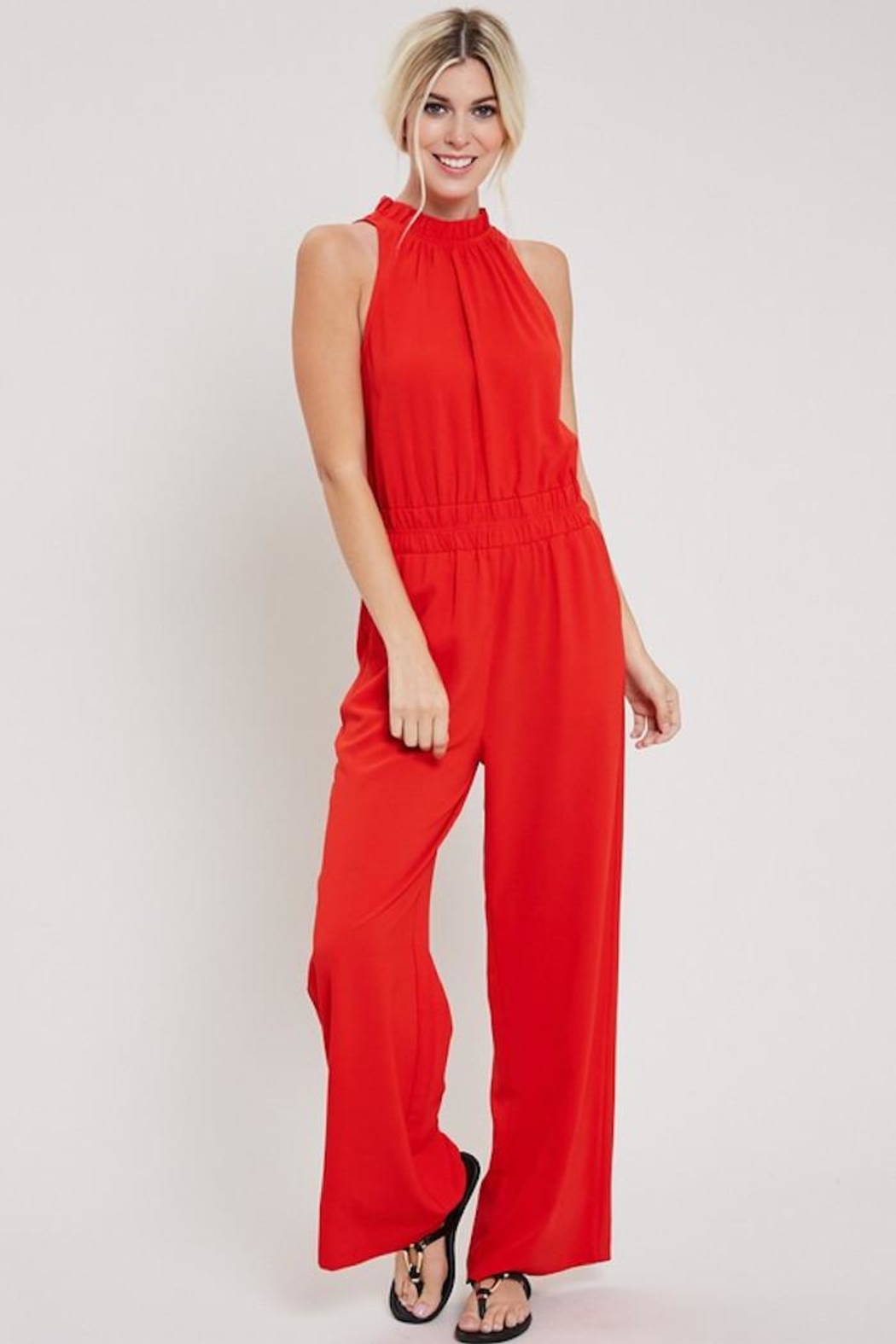 eesome Red Hot Jumpsuit - Main Image