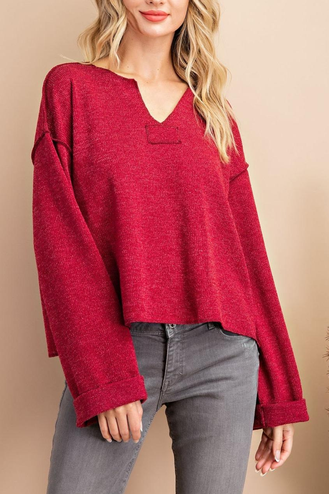 eesome Red Long Sleeve - Main Image