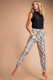 eesome Snake Skin Joggers - Front cropped