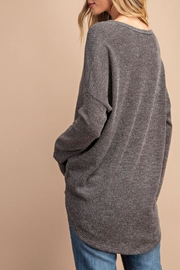 eesome Soft Button Top - Front full body