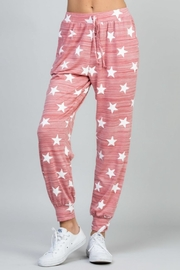 eesome Star Print Pant - Front cropped