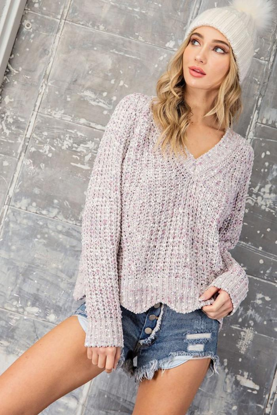 eesome Sweet Dreams Sweater - Front Full Image