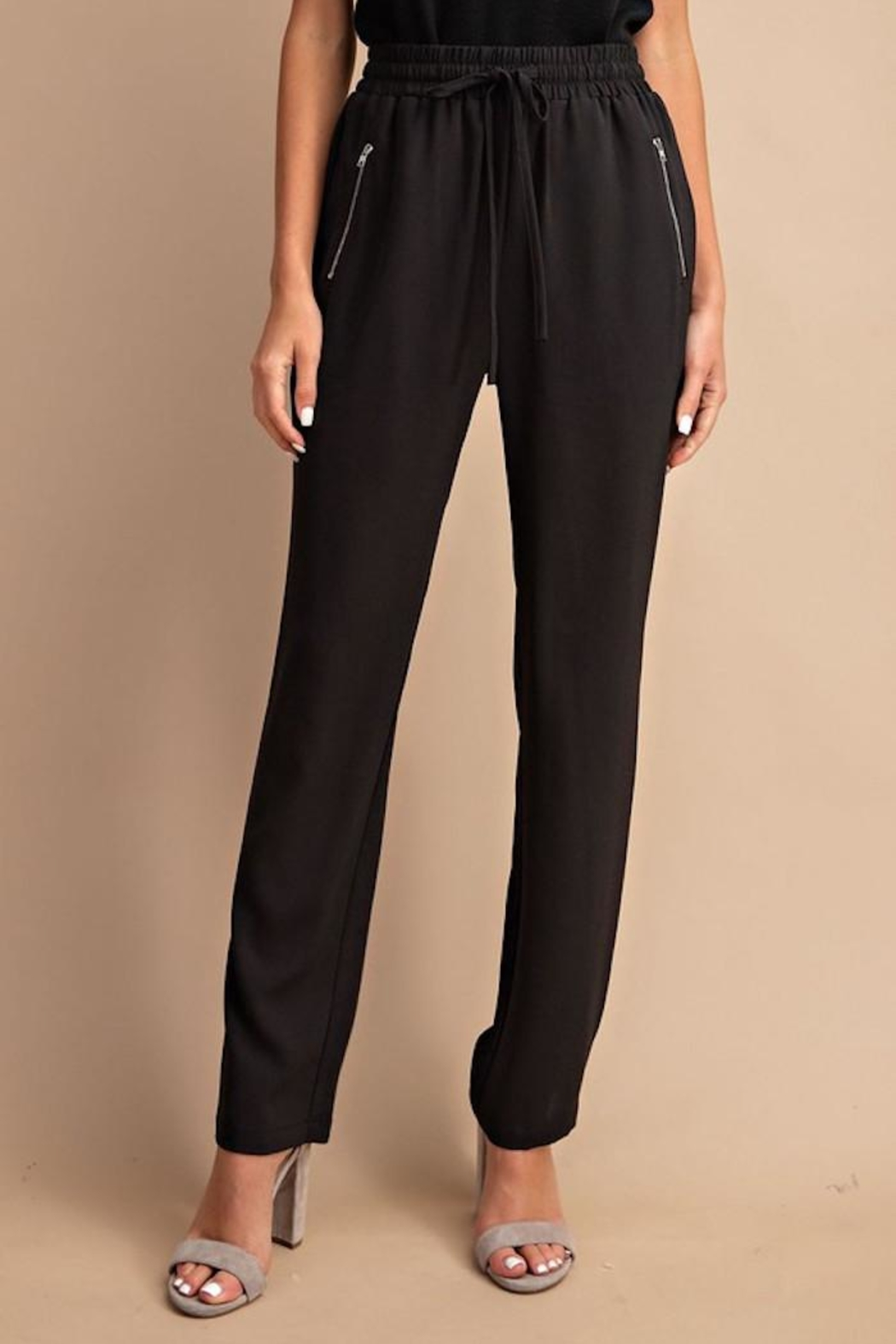 eesome Trendy Trousers - Side Cropped Image