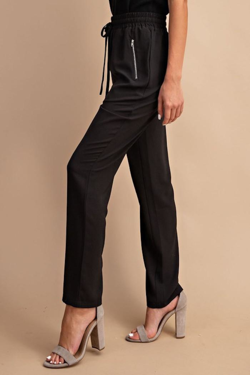 eesome Trendy Trousers - Back Cropped Image