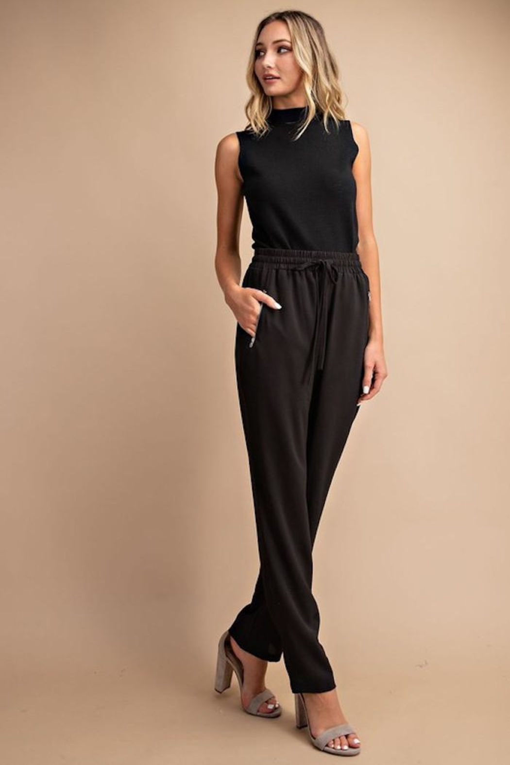 eesome Trendy Trousers - Front Full Image