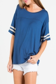eesome Varsity Stripes Top - Product Mini Image