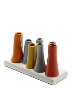 Shoptiques Product: 8 Tube Vase