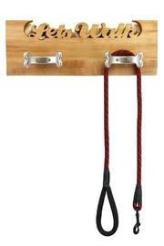Shoptiques Product: Wooden Leash Rack - Front full body