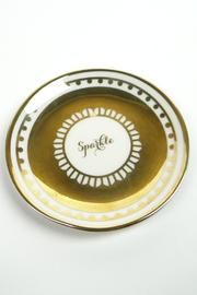DEMDACO Sparkle Decorative Plate - Front cropped
