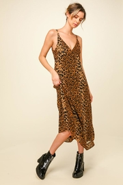 Line & Dot Effie Leopard Dress - Product Mini Image