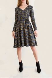 Effie's Heart Fall Wrap Dress - Product Mini Image