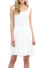 Glam Effortless Embroidered Dress - Product Mini Image