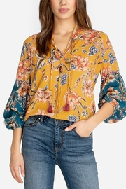 Johnny Was Effortless Peasant Blouse - Product Mini Image