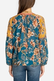 Johnny Was Effortless Peasant Blouse - Front full body