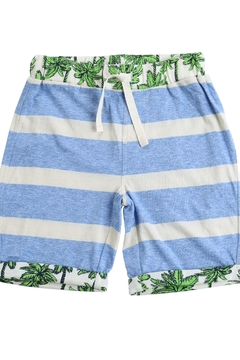 EGG Blue Stripe Shorts - Alternate List Image
