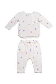 EGG Cream Starry Set - Front cropped