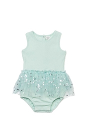 EGG Mint Tulle Romper - Front cropped
