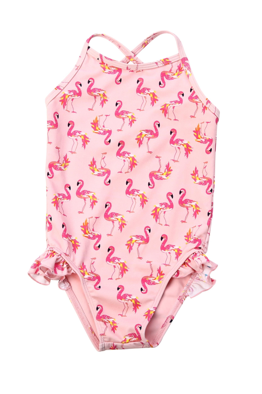 EGG Pink Flamingo Suit - Main Image
