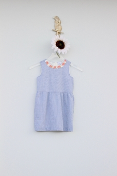 EGG Seersucker Flower Dress - Product List Image