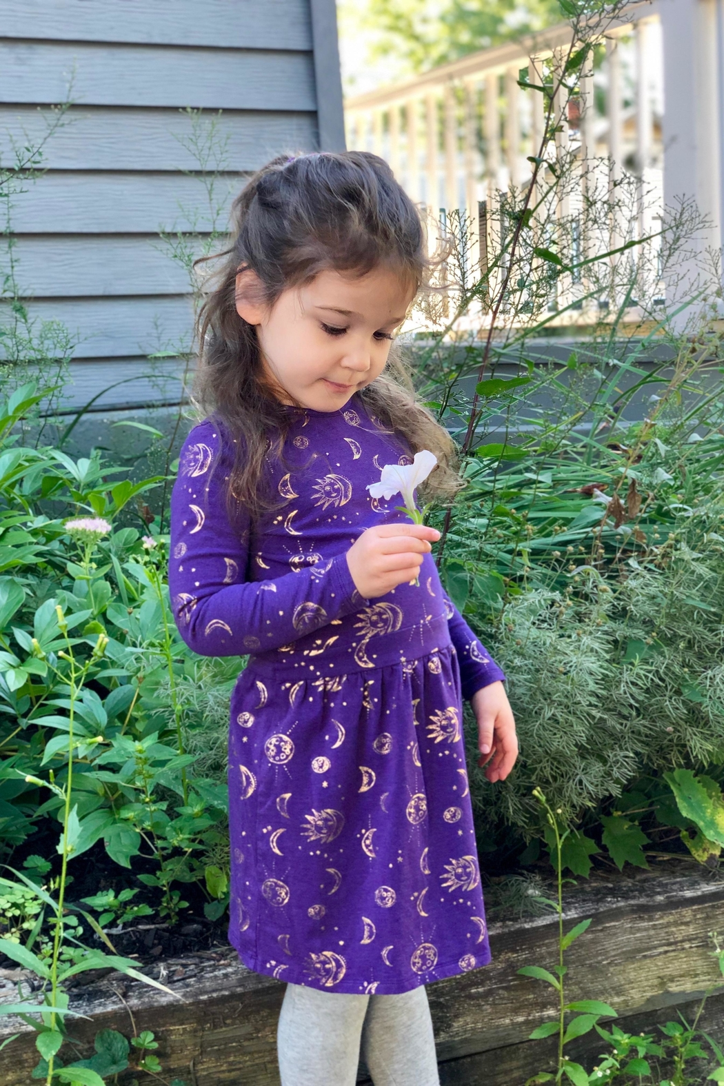 Egg  by Susan Lazar Camilla Celestial Dress - Front Full Image