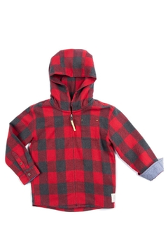 Egg  by Susan Lazar Plaid Emmett Jacket - Product List Image