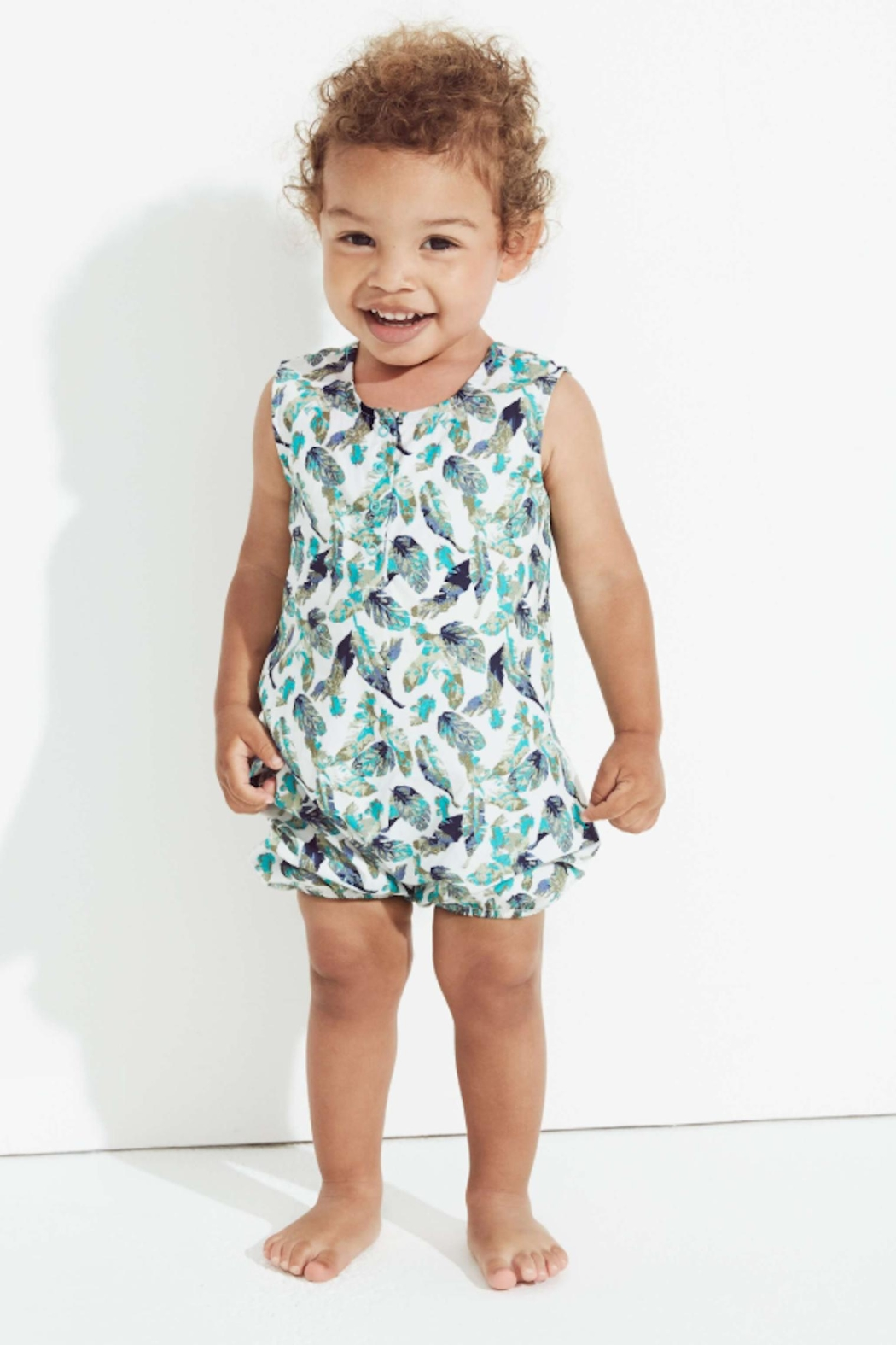 f9c8c08f2af3 Egg by Susan Lazar Nathan Sleeveless Romper from New York by Lex ...