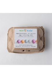 eco-kids Eggstraordinary, All-Natural Egg Coloring Kit - Product Mini Image