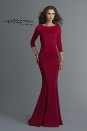 Saboroma Egypt Gown, Red/Gold - Product Mini Image