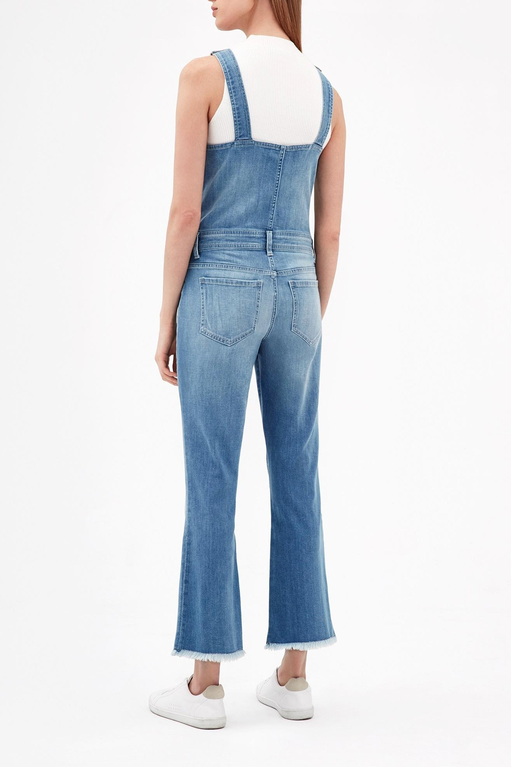 ei8ht dreams Flare Overall - Front Full Image