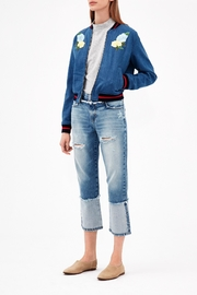 ei8ht dreams Reverse Selvedge Straight Crop - Side cropped