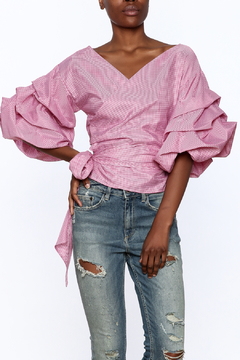 Shoptiques Product: Puff Sleeve Top