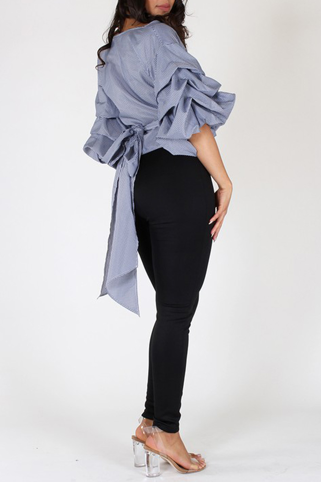 Eien Puff Sleeve Top - Side Cropped Image