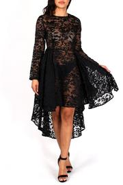 Eien Apparel High Low Lace Dress - Product Mini Image