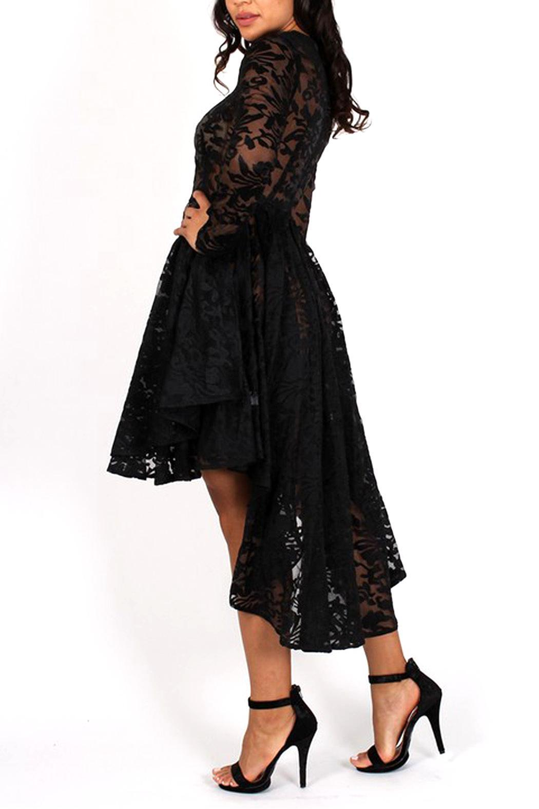 Eien Apparel High Low Lace Dress From South Carolina By