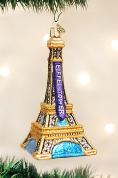 Old World Christmas Eiffel Tower Ornament - Product List Image