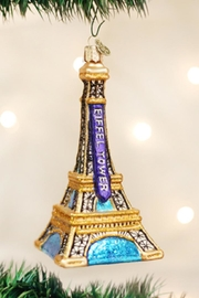 Old World Christmas Eiffel Tower Ornament - Product Mini Image