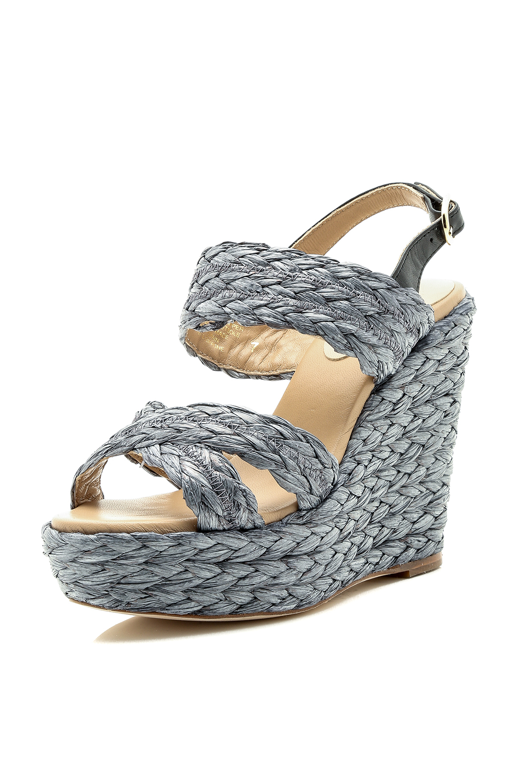 6797766770b Eight Fifteen Hula Hoop Braided Wedge from New York City by WiNK ...