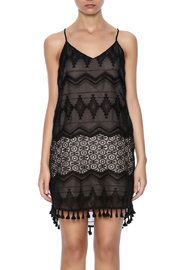 Eight Sixty Black Lace Dress - Side cropped
