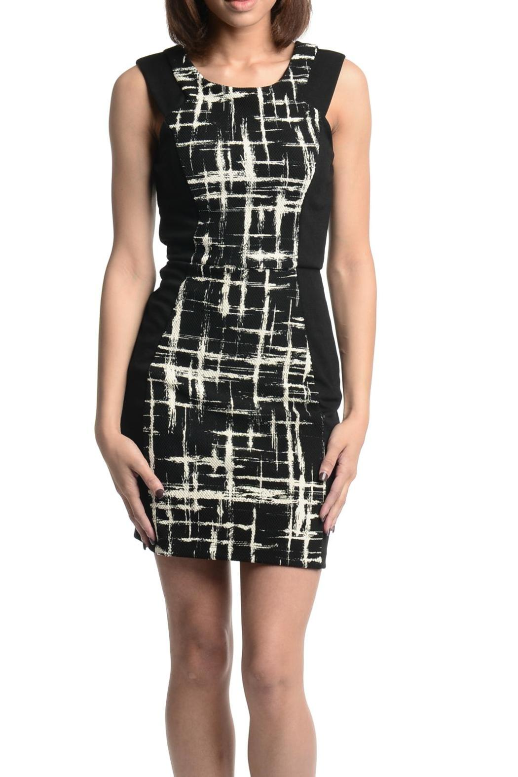 Eight Sixty Color Block Dress - Main Image