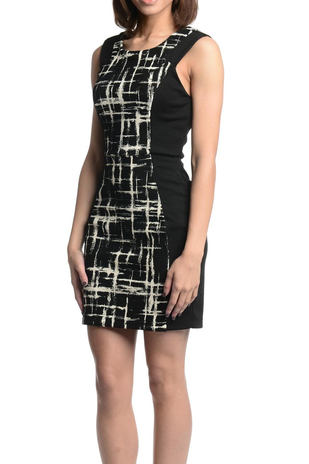 Eight Sixty Color Block Dress - Front Full Image