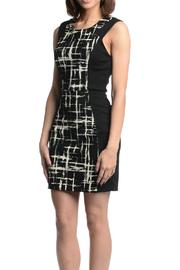 Eight Sixty Color Block Dress - Front full body