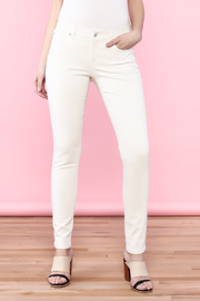 Eileen Fisher Off-White Skinny Jean - Product Mini Image