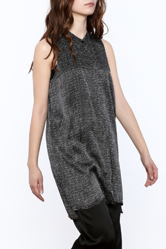 Eileen Fisher Speckled Silk Top - Product List Image