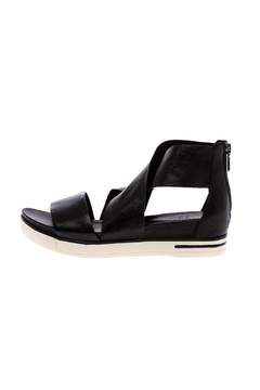 Eileen Fisher Tumbled Black Sport Sandal - Product List Image