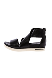 Eileen Fisher Tumbled Black Sport Sandal - Product Mini Image