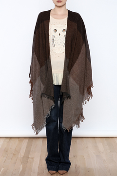 Eileen Fisher Brown Wrap - Product List Image