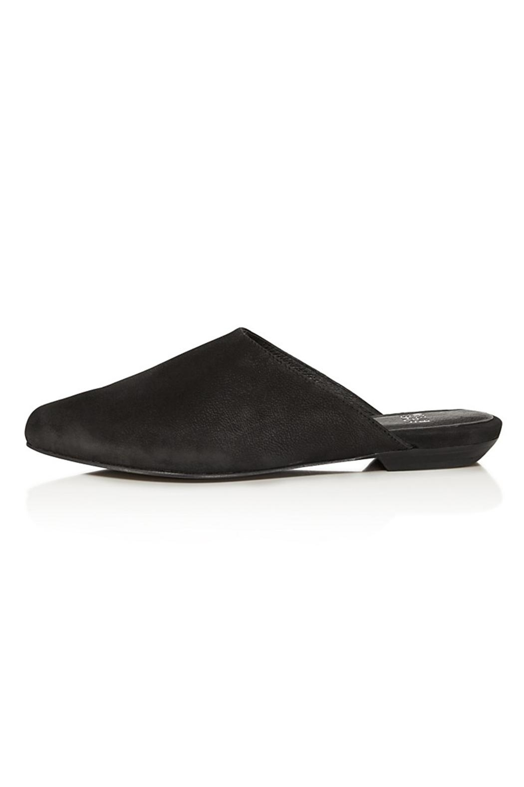 Eileen Fisher Blog Suede Sandal - Front Full Image